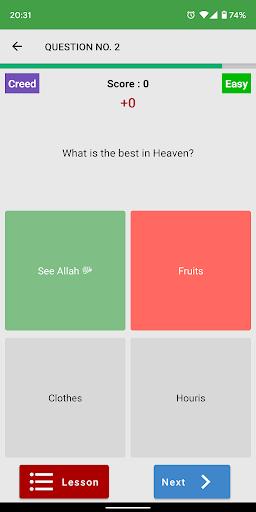 Top Islamic Quiz ud83dudd4b android2mod screenshots 5