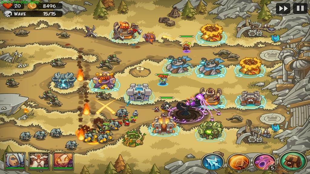 Empire Warriors Premium: Tower Defense Games poster 11
