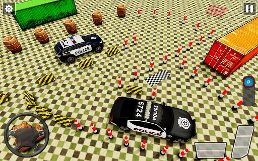Crazy Traffic Police Car Parking Simulator 2020 screenshots 4