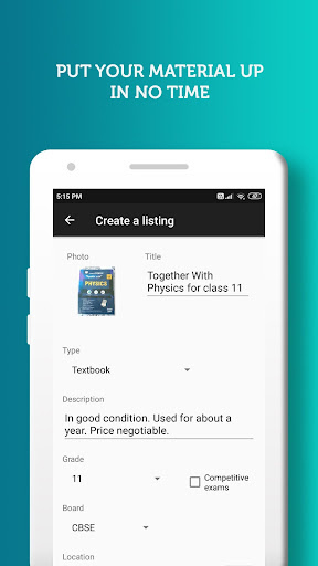 BookSyndy - Find and sell used books in your area  screenshots 3