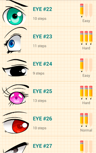 How to Draw Anime Eyes  screenshots 2