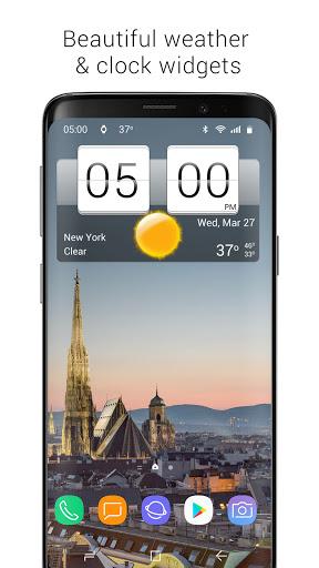 Sense Flip Clock & Weather  Screenshots 1