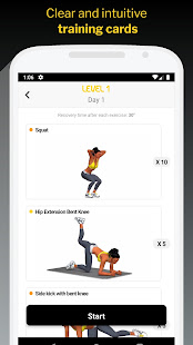 30 Day Butt & Leg Challenge women workout home