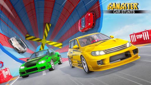 Gangster Car Stunt Games: Mega Ramp Car Simulator screenshots 2