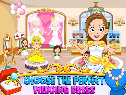 My Town : Wedding Bride Game for Girls Free (MOD, Unlimited Money) For Android 7
