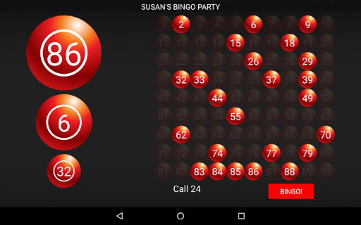 Bingo Caller Machine (free Bingo Calling App)  Screenshots 17