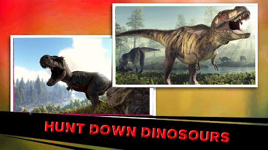 dino hunting 2020: Dinosaur games MOD APK 1.6 (Unlimited Currency) 2