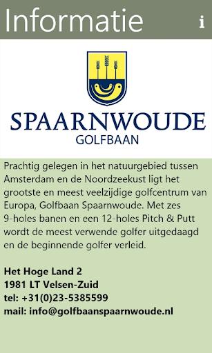 golfbaan spaarnwoude screenshot 1