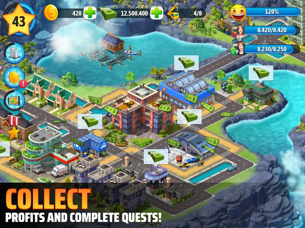 City Island 5 - Tycoon Building Simulation Offline  poster 9