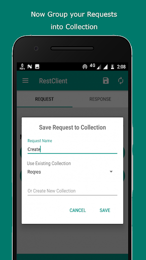 rest client - test rest api with your phone screenshot 3