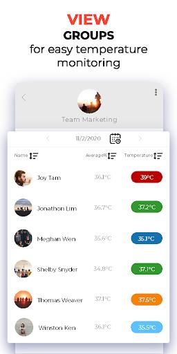 Temperature Attendance  screenshots 3
