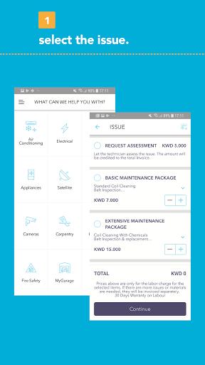 MyHome - Home Service App 2.16.0 Screenshots 3