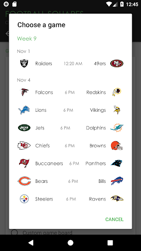 football squares | contender screenshot 1