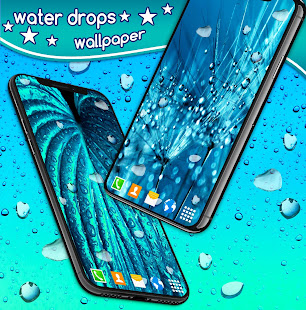 Water Drops Live Wallpaper Rain 4k Wallpapers Apps On Google Play