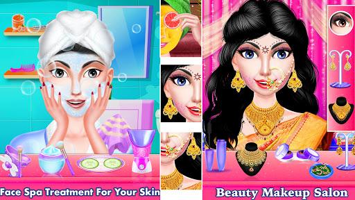Indian Wedding Girl - Makeup Dressup Girls Game 1.0.3 screenshots 24