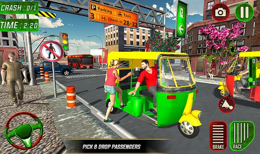 Tuk Tuk Auto Rickshaw Driver 2019:City Parking 1.5 screenshots 8
