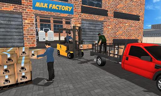 Cow farm milk factory farming dairy farm games  screenshots 4