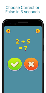 Fast Math - Math game for brain excercise