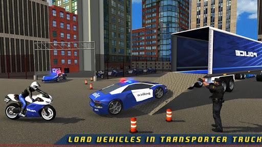 Police Plane Transporter Game  screenshots 18