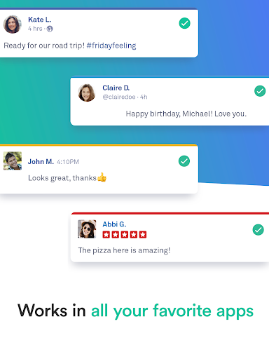 Grammarly Keyboard - Writing & Spelling Assistant 1.9.17.2 Screenshots 12