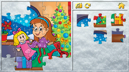 Christmas Puzzles for Kids screenshots 14