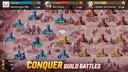 Summoners War Mod Apk (Unlimited Money, Crystals, Everything Free) 6