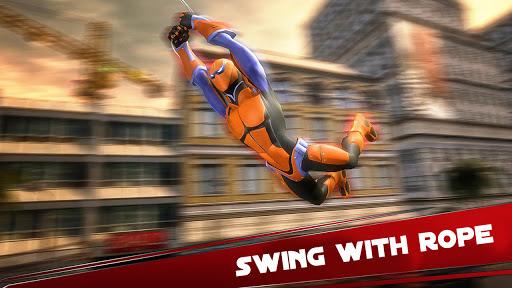 Amazing Spider Hero: Ninja Stickman Rope Hero 3D 1.0 screenshots 1