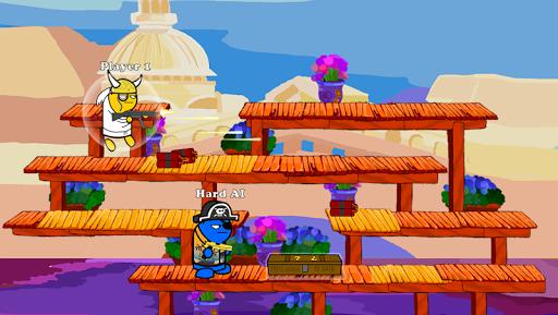 Gun Fight:One Stickman Jump Combat Game  screenshots 1