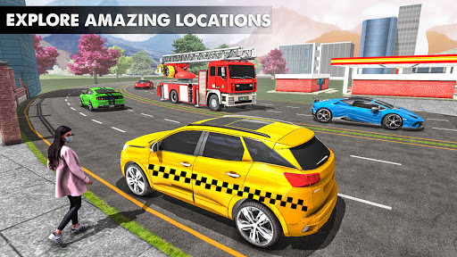 City Taxi Driver 2021 2: Pro Taxi Games 2021 0.1 screenshots 2