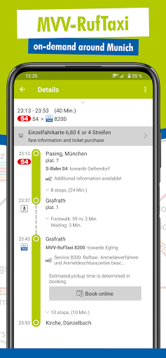 MVV-App u2013 Munich Journey Planner & Mobile Tickets  Screenshots 6