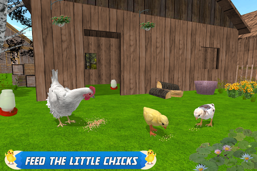New Hen Family Simulator: Chicken Farming Games  screenshots 2