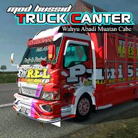 Mod Bussid Truck Canter Wahyu Abadi Muatan Cabe