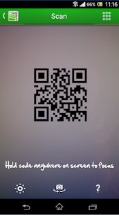 QR Droid Private™ Screenshot