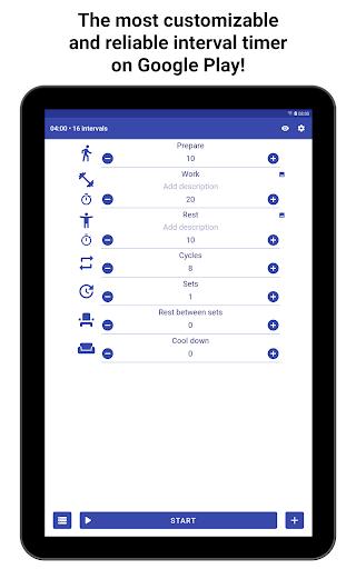 Tabata Timer: Interval Timer Workout Timer HIIT 5.2.1 Screenshots 9