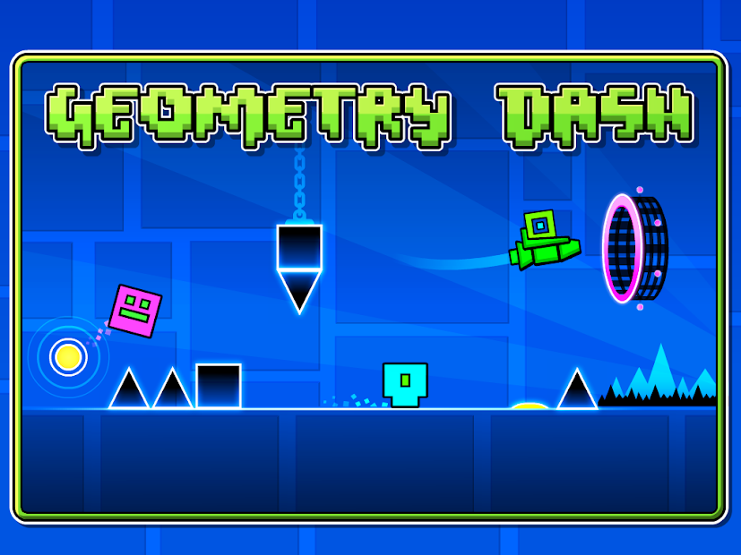Geometry Dash Android App Screenshot