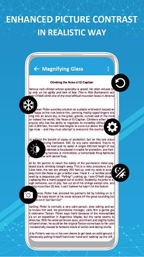 Magnifier /Text Magnifier/Digital Magnifying Glass android2mod screenshots 5