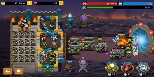 Castle Defense King screenshots 5