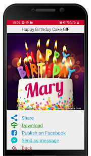 Happy Birthday GIFs with Name Maker
