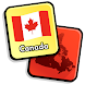 Canadian Province & Territory Quiz - Maps & More - Androidアプリ