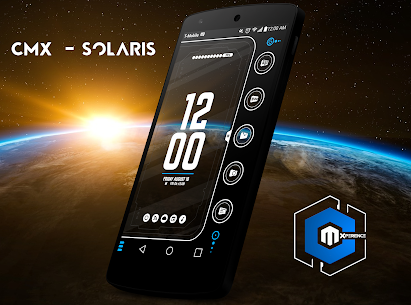CMX – Solaris for KLWP APK 1
