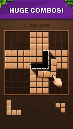 Fill Wooden Block: 1010 Wood Block Puzzle Classic  screenshots 4
