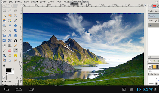 XGimp Image Editor Screenshot