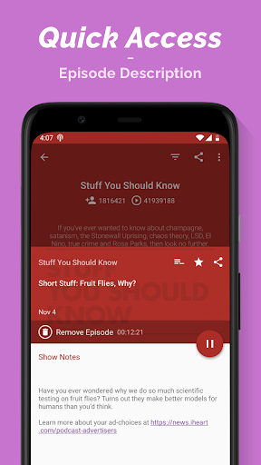 Podcast Player  Screenshots 6