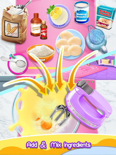 Princess Cake - Sweet Trendy Desserts Maker 2.4 screenshots 6