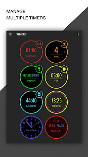 MultiTimer: Multiple timers