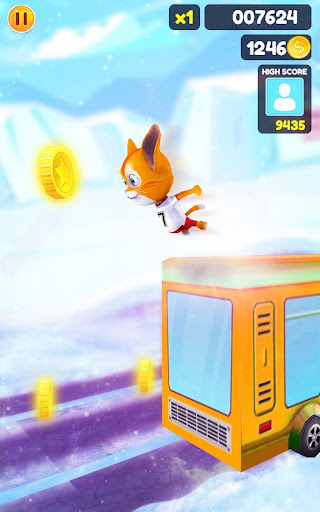 Cat Run Simulator 3D : Design Home screenshots 11