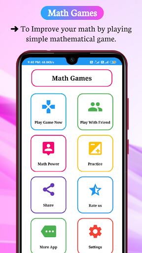 Math Games, Learn Plus, Minus, Multiply & Division 6.6.0 screenshots 8