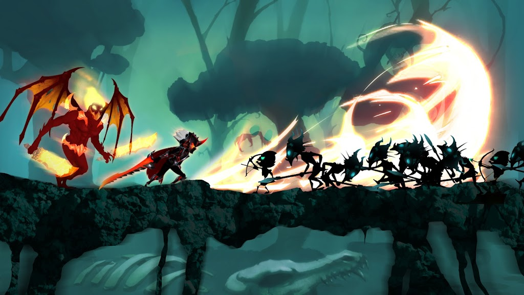 Stickman Legends: Shadow War Offline Fighting Game poster 12