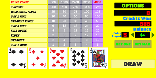 Deuces Wild - Video Poker 1.9 screenshots 10