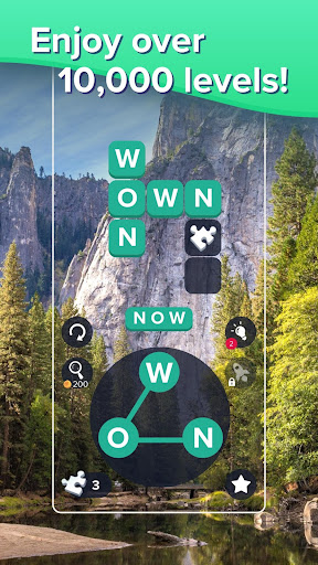 Puzzlescapes: Relaxing Word Puzzle & Spelling Game 2.245 screenshots 1